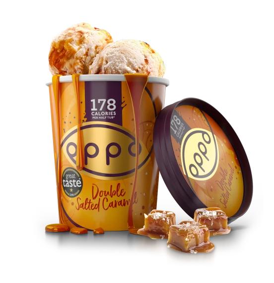 Oppo Double Salted Caramel 475ml – 6 stk. í pk
