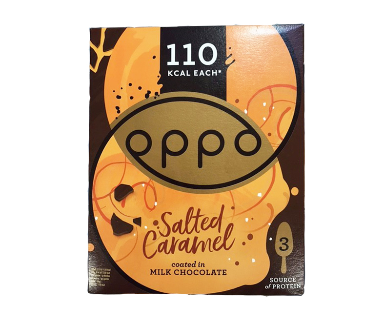Oppo Salted Caramel 80m. 3 stk. - 6 ein í pk